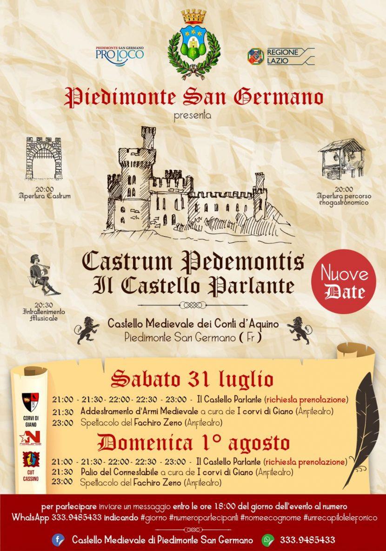 rievocazione castrum pedemontis